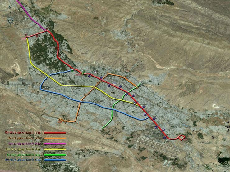 Shiraz Subway Guide