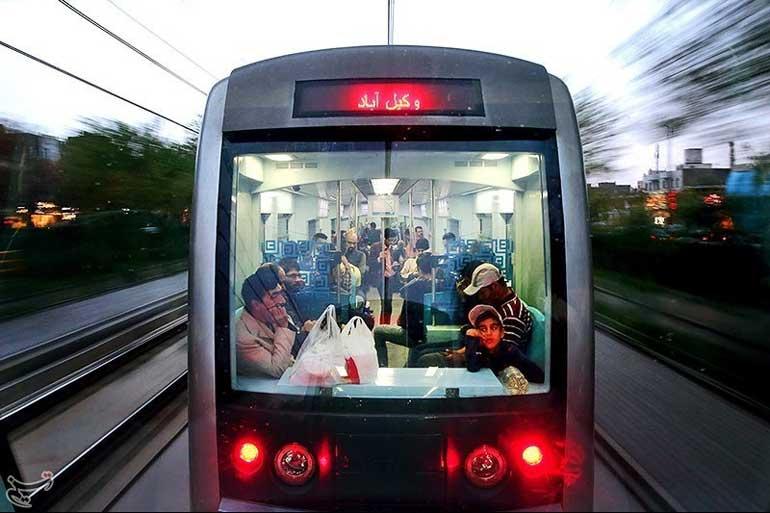 متروی مشهد را مثل کف دستتان بشناسید