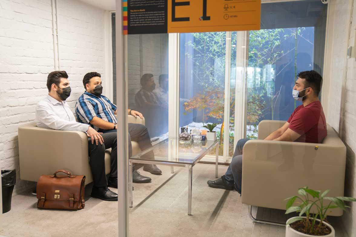 اتاق جلسات روز اول؛ قلب فرماندهی علی بابا