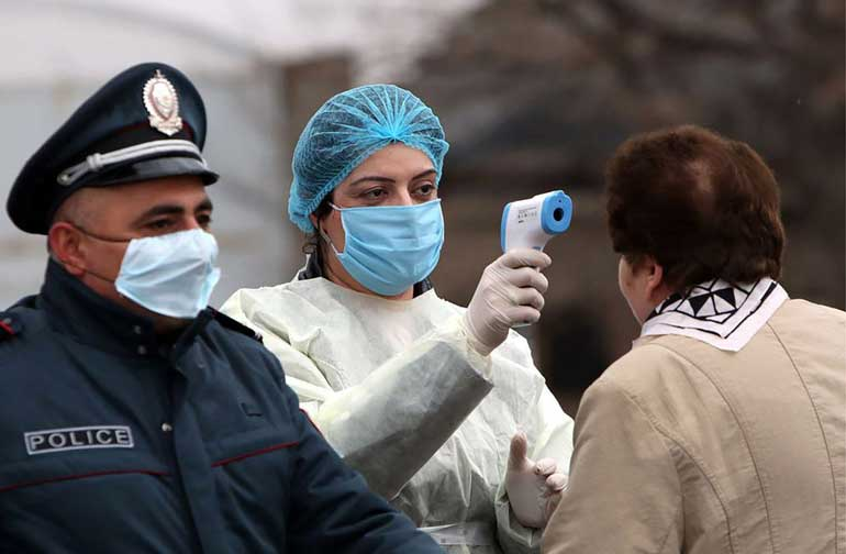 واکسن کرونا در ارمنستان