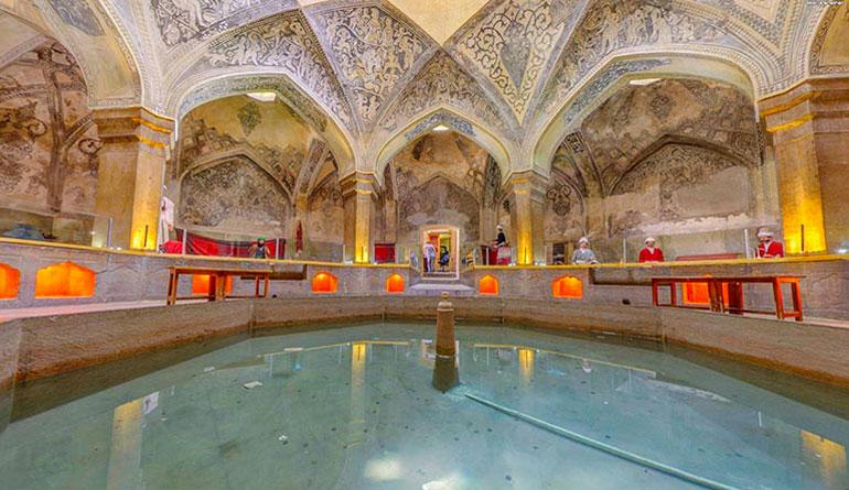 حمام وکیل شیراز حمامی در دل شهر راز!