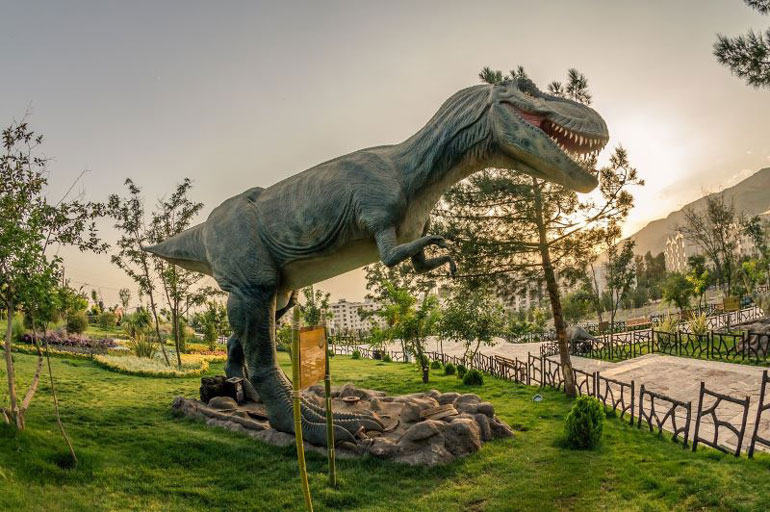 پارک ژوراسیک تهران؛ سفری به میلیونها سال پیش