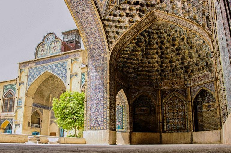 مسجد مشیر شیراز؛ آینه تاریخ شهر
