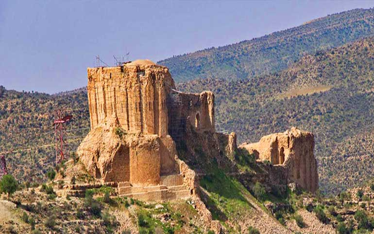 قلعه دختر فیروزآباد؛ قلعهای که تاریخ را زنده نگاه داشته