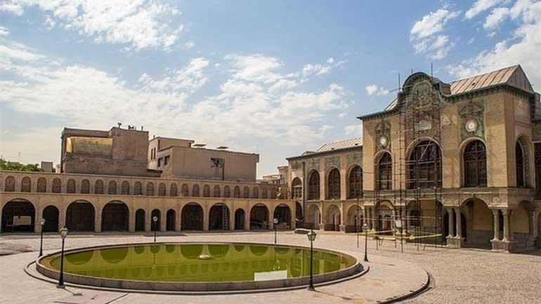 عمارت مسعودیه تهران؛ نگینی قاجاری در قلب بهارستان