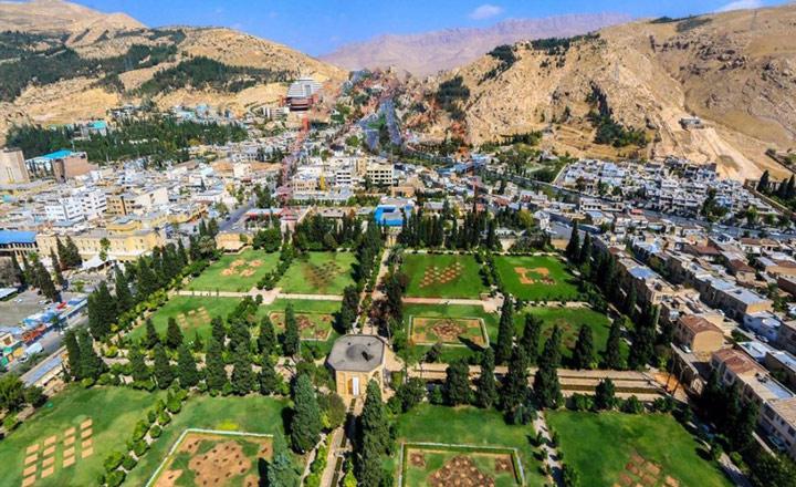 باغ جهان نما شیراز؛ فرصت قدم زدن در یکی از قدیمیترین بهشتهای شیراز