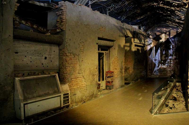 تالار حیرت و واقعیت موزه دفاع مقدس از فهرست موزه های تهران