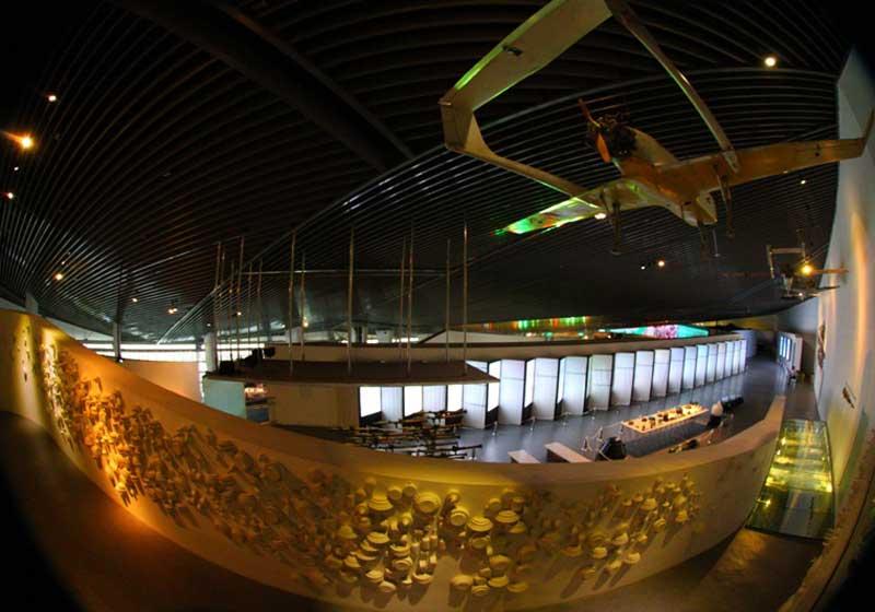 تالار آرامش موزه دفاع مقدس از فهرست موزه های تهران