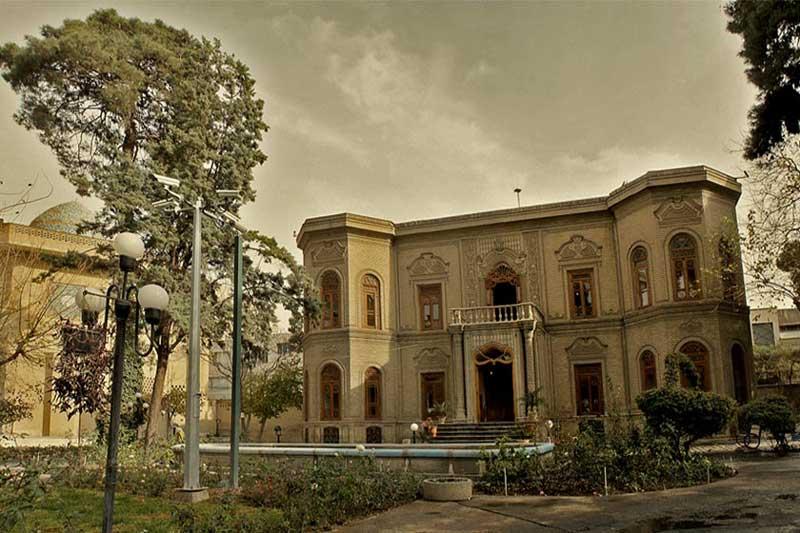 موزه آبگینه از فهرست موزه های تهران