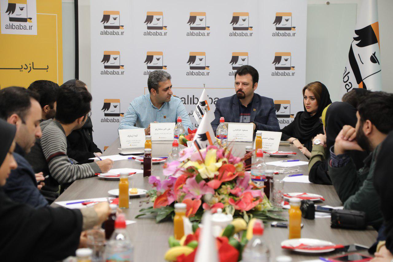 بازدید اهالی مطبوعات از بزرگترین مرکز تماس گرشدگری خاورمیانه
