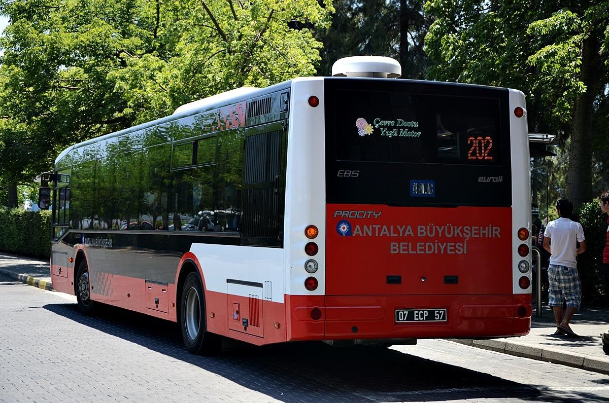 هزینه حمل و نقل عمومی در آنتالیا