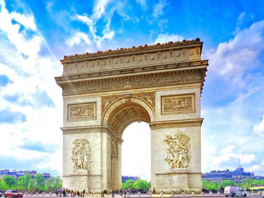 طاق پیروزی سفر به پاریس