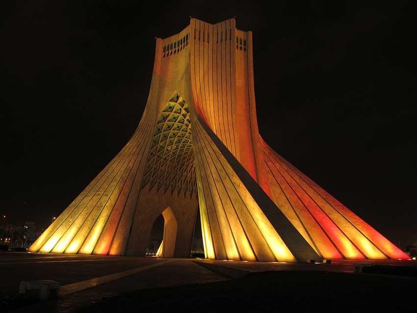 برج آزادی، جاهای دیدنی تهران