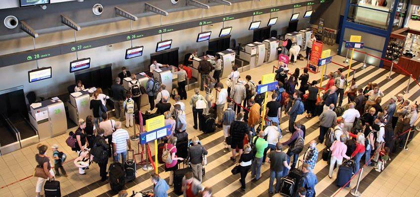 چک این در فرودگاه