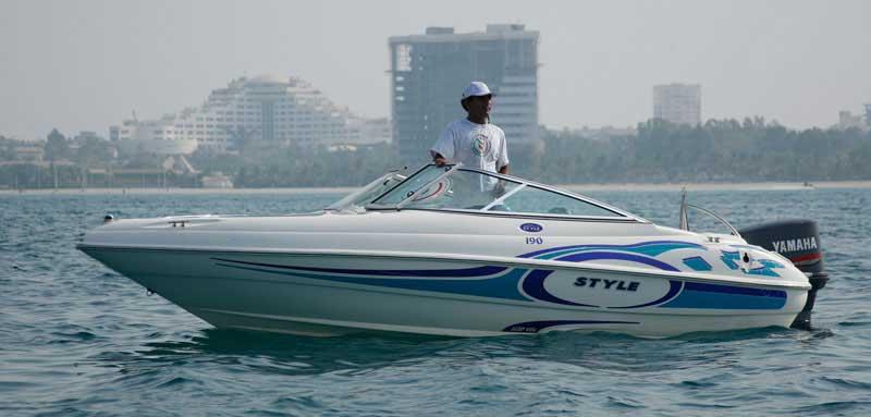 قایق تندروی کیش