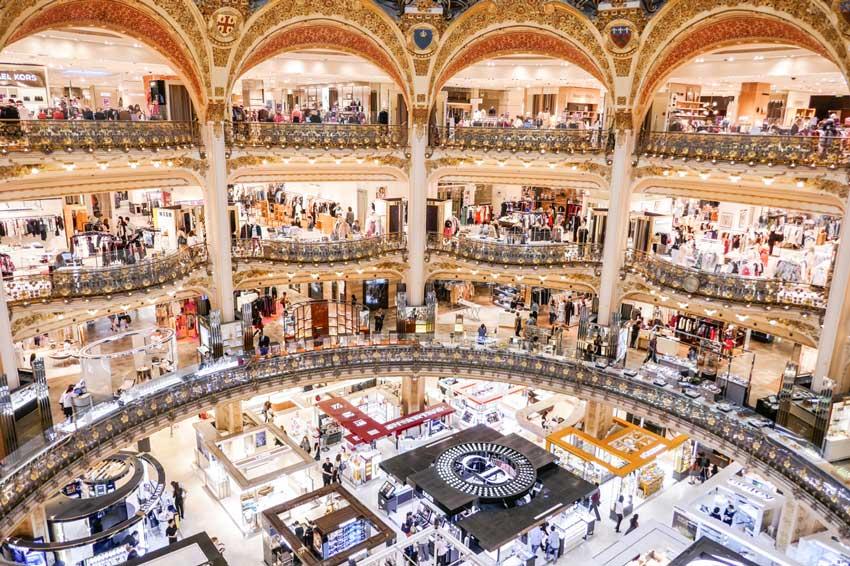 گالری لافایت مراکز خرید پاریس