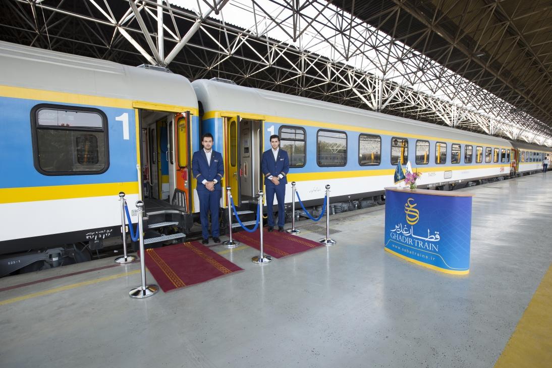 قطار 4 ستاره غدیر