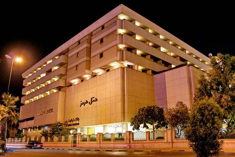 هتل هرمز نزدیک فرودگاه بندرعباس