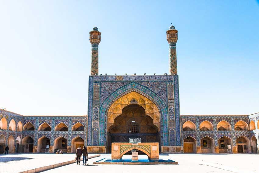 سفر اصفهان - مسجد جامع اصفهان