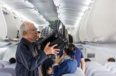 بار مجاز دستی در هواپیما