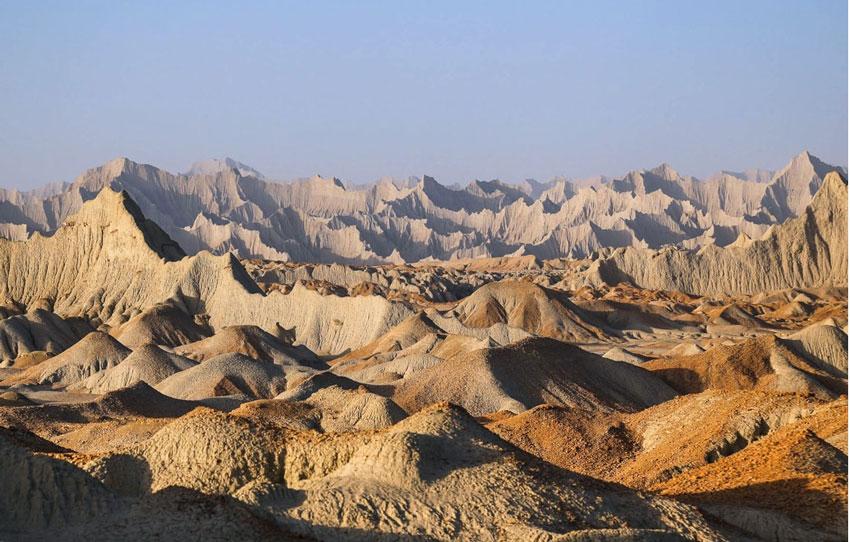 دیدنی های چابهار - کوه های مریخی