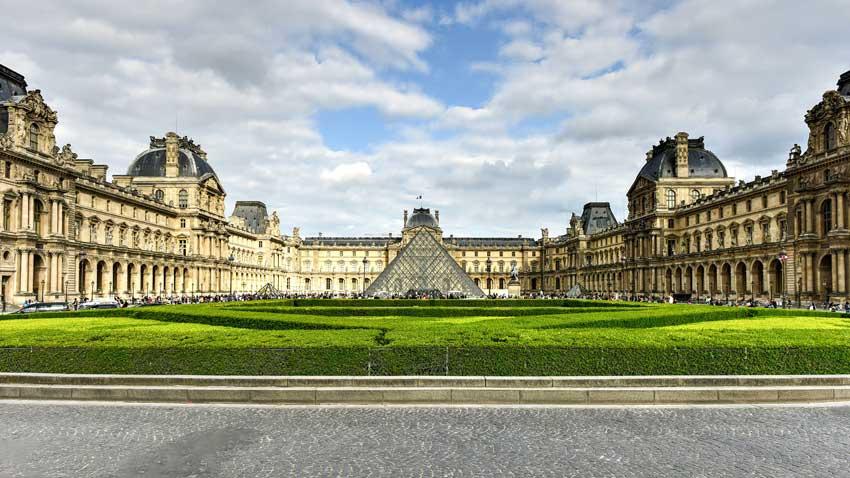 موزه لوور تور فرانسه