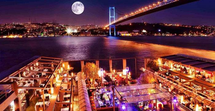 مکان های دیدنی استانبول - تالار شبانه