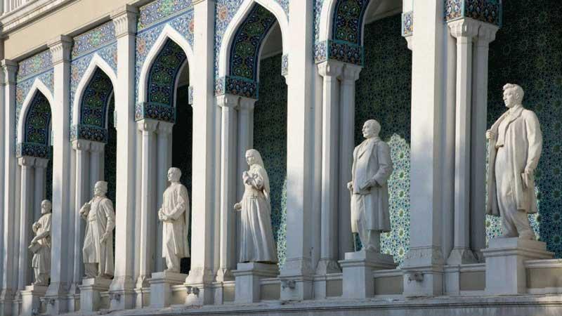 موزه ادبی نظامی - جاذبه های تاریخی آذربایجان