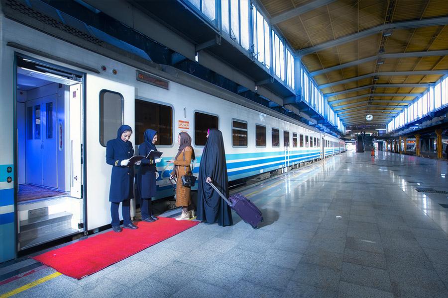 قطارهای نورالرضا در کدام مسیرها هستند