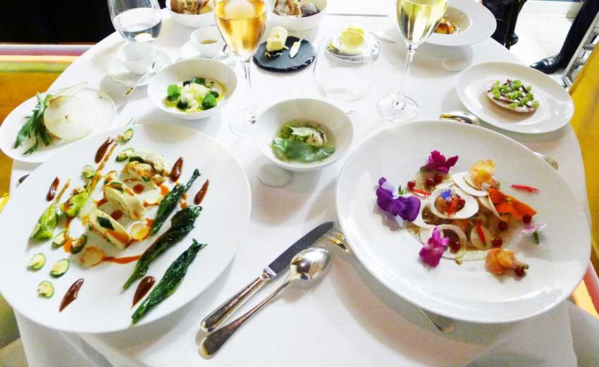 رستوران پییر گنیِر تور پاریس