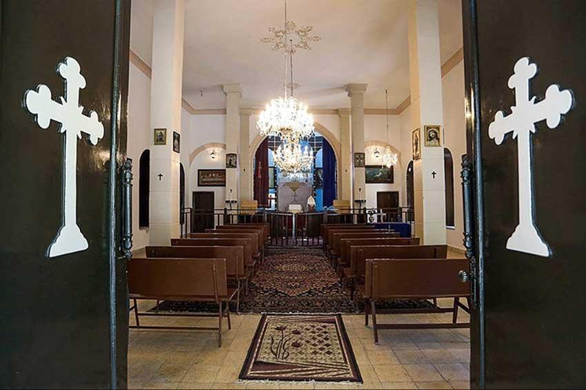 دیدنی های مشهد کلیسا مسروپ مقدس