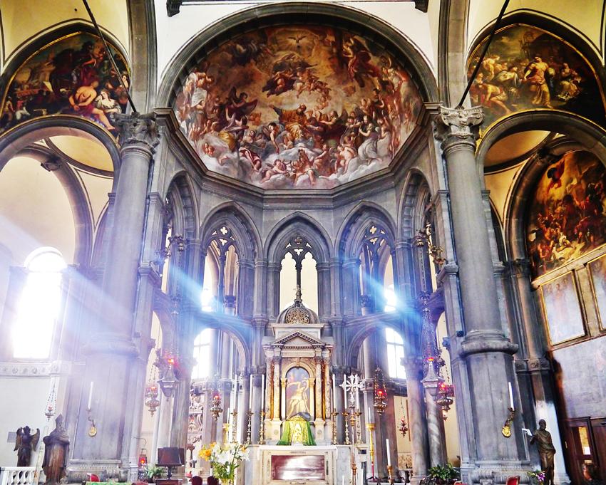 جاهای دیدنی ونیز کلیسا زکریا