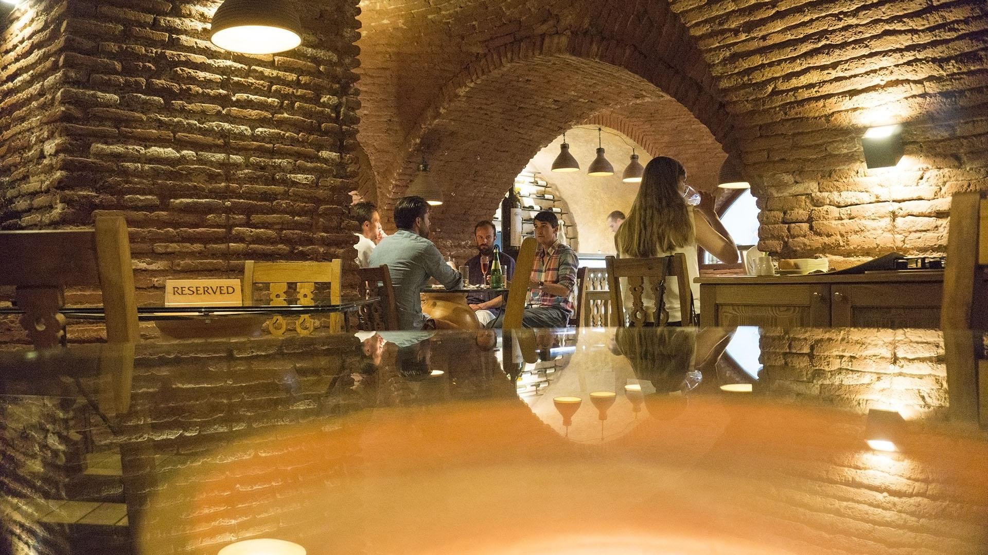 رستوران شاکمن تفلیس