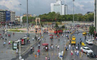 میدان تکسیم (میدان تقسیم) ترکیه