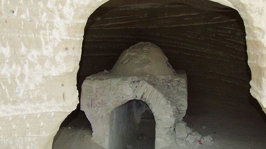 غارهای بان مسیتی - دیدنیهای چابهار