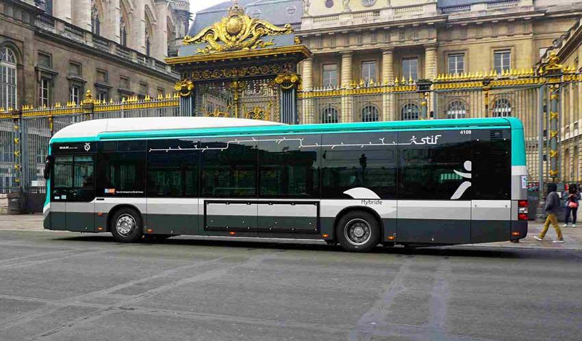 اتوبوس پاریس سفر به پاریس