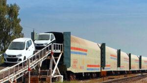 بلیط قطار حمل خودرو