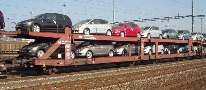 شرایط حمل خودرو با قطار