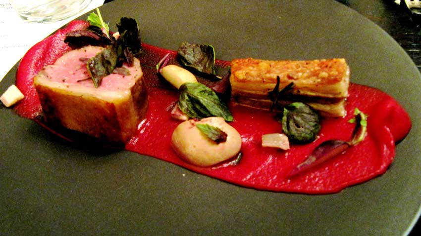 رستوران شاتوبریان تور پاریس