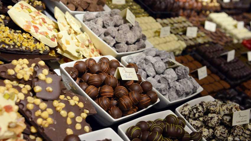 شکلات فرانسوی سفر به پاریس