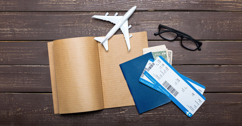 از نوشتههای روی بلیط هواپیما سر در میآورید؟