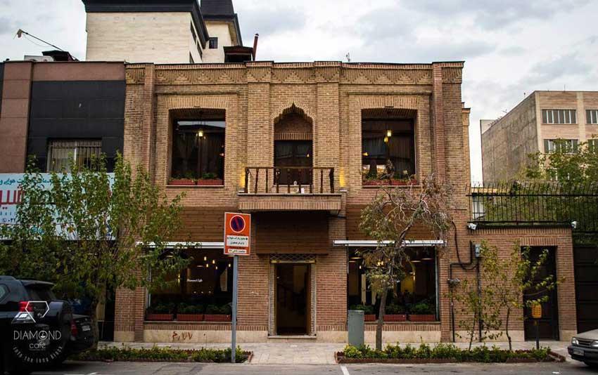 کافه دیاموند در فهرست بهترین کافه های تهران