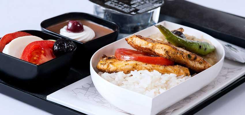 غذای کلاس اکونومی ترکیش