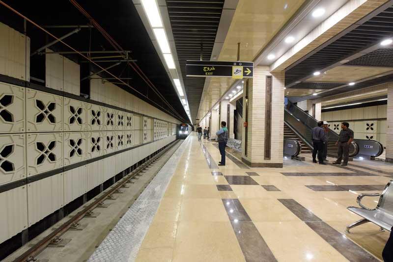 نقشه متروی