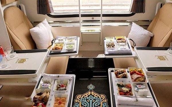 قطارهای فدک - تهران به مشهد