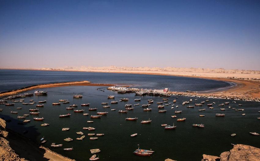 مکان های دیدنی چابهار -خلیج گواتر
