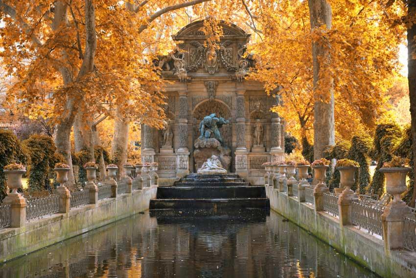 باغ لوکزامبورگ تور فرانسه