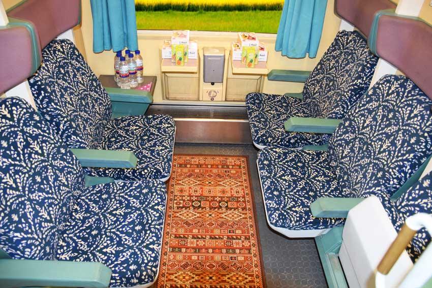 امکانات قطارهای کویر جوپار