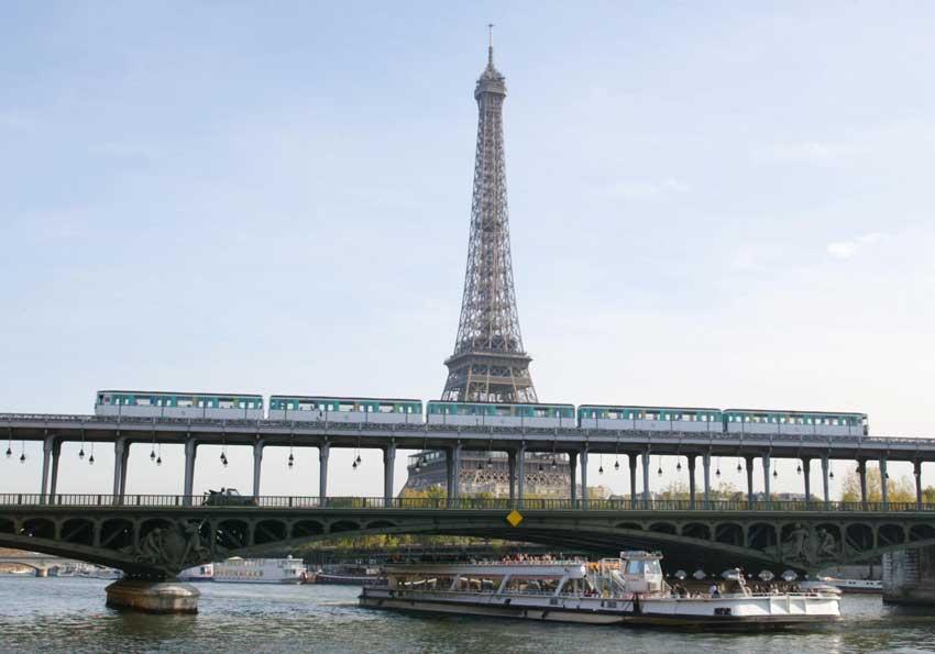 مترو پاریس تور فرانسه