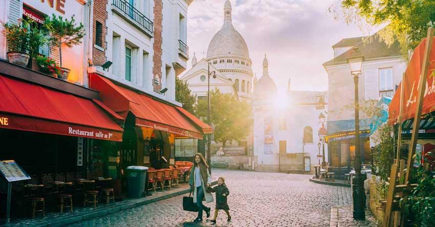 منطقه مون مارت قیمت تور فرانسه